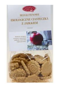 Ciasteczka z jabłkiem bezgl. BIO 100g Zemanka - 2869119454