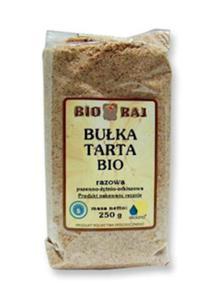 Bułka tarta razowa 250g Bio Raj - 2861943489