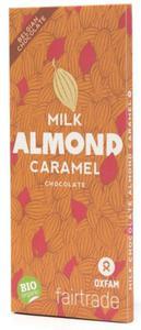 Czekolada mleczna z karmelizowanymi migdałami Fair Trade BIO 100g Oxfam - 2873007994