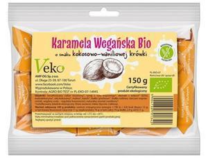 Karamela, krówka wegańska BIO 150g Ekoflorka - 2873180061
