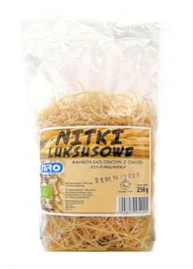 Makaron orkiszowy Nitki luksusowe BIO 250g Niro - 2825279922