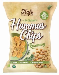 Chipsy z ciecierzycy z rozmarynem bezglutenowe BIO 75g Trafo - 2877490060