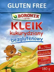 Kleik kukurydziany bezguten. BIO 180g Borowik - 2881090092