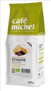 Kawa ziarnista Arabica Sidamo Etiopia Fair Trade BIO 500g Cafe Michel - 2876962942