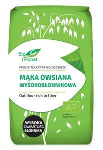 Mąka owsiana wysokobłonnikowa BIO 0,4kg Bio Planet - 2876962944