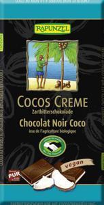 Czekolada gorzka z nadzieniem kokosowymi BIO 100g Rapunzel - 2877648371