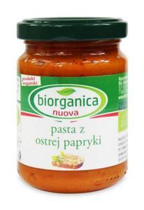 Pasta z ostrej papryki BIO 140g Biorganica Nuova - 2878192896