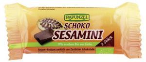 Sezamki w czekoladzie BIO 27g Rapunzel - 2878641668