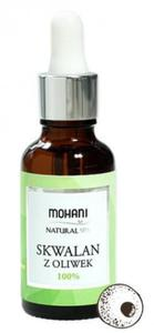 Skwalan z oliwek 100% 30ml Mohani - każdy typ cery - 2881549810