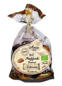 Muffinki Babuni orkiszowe BIO 200g BIOANIA - 2882253785