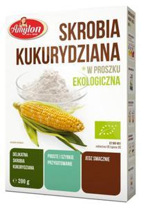 Skrobia kukurydziana BIO 250g Amylon - 2845057922