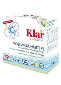 Proszek do prania uniwersalny (orzechy) BIO 1,1kg Klar - 2825280143