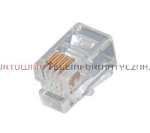 Wtyk RJ09 mikrowtyczna 4p4c (100szt) - 1629406853