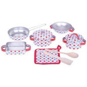 Zestaw naczyń do gotowania Kropka - 2846333949