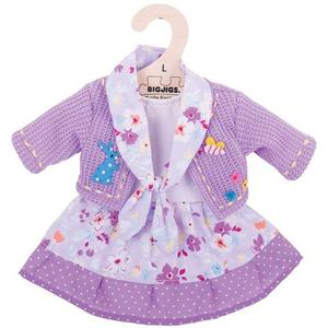 Ubranko dla lalki fioletowe - 2880412750