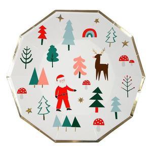 Meri Meri - Talerzyki Boże Narodzenie - 2889396269