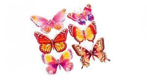 Naklejki ścienne Motyle 3D - 2845265959