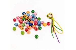 GOKI Zestaw modnych koralików Beads - 2845264997