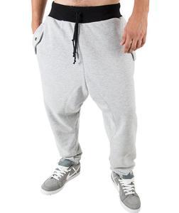 Szare spodnie dresowe 'Marco' Carlo Lamon - szary - 2601031904