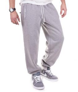 Sportowe spodnie dresowe 'Teodoro' od Carlo Lamon - Melanż - 2601031910