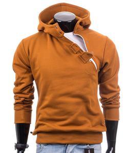 Oryginalna camelowa bluza męska Carlo Lamon - Camelowy - 2601031912