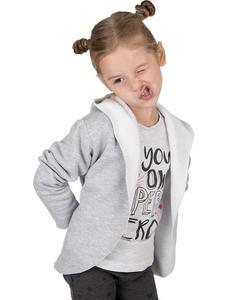 Oryginalna markowa bluza dziecięca 'Oli' Carlo Lamon - szary - 2601031930