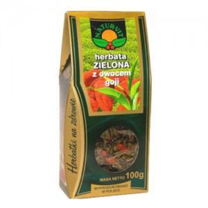 Herbata zielona z owocem goji 100g