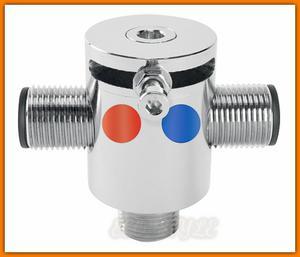 """Mieszacz wody MM10 FERRO 3/8"""" mechaniczny do baterii bezdotykowych - 2884362246"""