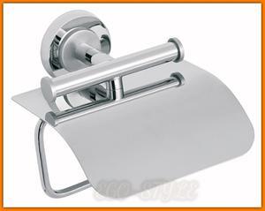 Uchwyt na papier toaletowy WC TORRENTE B15 FERRO chrom satyna - 2884362502