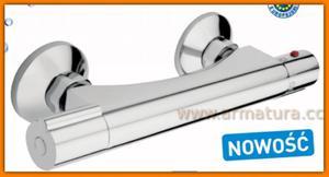 Bateria natryskowa termostatyczna TORRES TOR7 FERRO prysznicowa - 2884363113