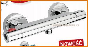 Bateria natryskowa termostatyczna TRINITY TRM7 FERRO prysznicowa - 2884363114
