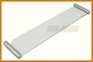 Półka szklana łazienkowa NOVATORRE 2 FERRO 6240.0 - 2884361898
