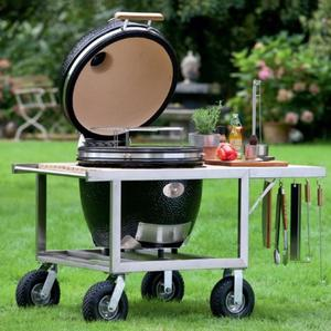 Grill ceramiczny Monolith z wózkiem BUGGY, ruszt 46 cm - 2850906888