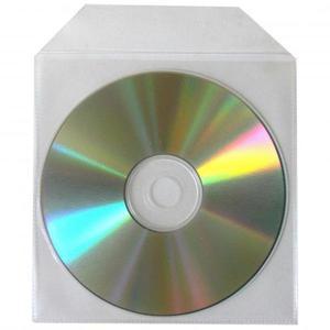 Koperta na 1 szt. CD, polipropylen, przezroczysta, z lepiącą klapką, No Name, opakowanie 100 szt, cena za 1 szt. - 2834725900