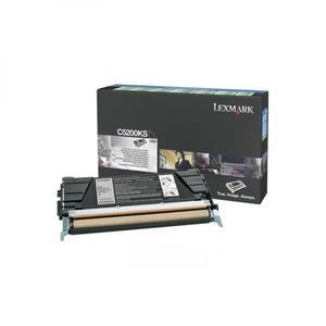 Lexmark oryginalny toner C5200KS, black, 1500s, return, Lexmark C530 - 2828176912