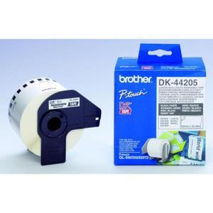 Brother rolki papierowe 62mm x 30.48m, biały, 1 szt., DK44205, do drukowania etykiet - 2834726186