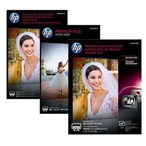 """HP Premium Plus Glossy Pho, foto papier, połysk, biały, 13x18cm, 5x7"""", 300 g/m2, 20 szt., CR676A, atrament,do druku bez marginesu - 2834726273"""
