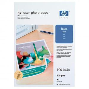 HP Photo Laser Paper 200 M, foto papier, matowy, biały, A4, 200 g/m2, 100 szt., Q6550A, laser,dwustronny druk - 2834726297