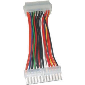 Redukcja zasilanie płyty głównej, 20pin(ATX)-20pin(ATX), M/F, No Name, do podłaczenia płyty głównej PC - 2834726401