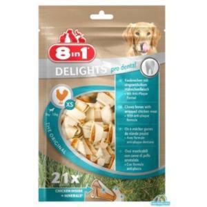 8in1 Dental Delights Bones XS 21szt. - 2833044803