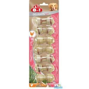 8in1 Pork Delights Bones XS 7szt. - 2833044816