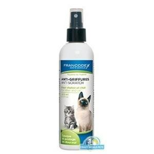FRANCODEX Spray przeciwko drapaniu przez kociaki i koty 200ml - 2833046791