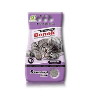 BENEK SUPER Żwirek Standard Lawendowy - 2833045285
