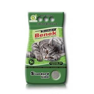 BENEK SUPER Żwirek Standard Zielony Las - 2833045287