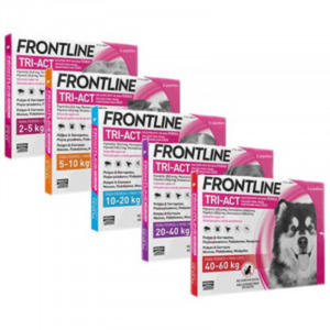 MERIAL FRONTLINE DOG Tri-Act Spot - On 3 pipety - 2833047630