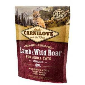 CARNILOVE CAT Lamb & Wild Boar Sterilised - 2843264916