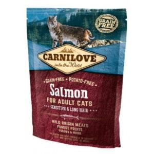 CARNILOVE CAT Salmon Sensitive & Long Hair - 2843264919