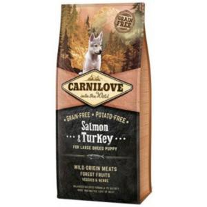 CARNILOVE DOG Puppy Large Salmon & Turkey - 2843264927