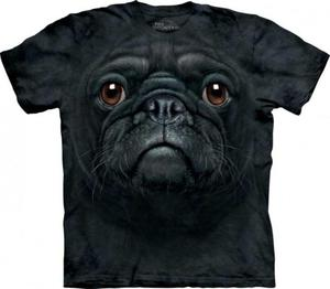 Black Pug Face Mops - T-shirt The Mountain - 2833178084