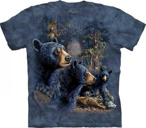 Find 13 Black Bears - T-shirt The Mountain - 2833178134